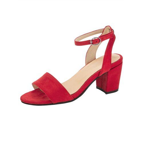 albamoda.de Sandale in trendiger Optik, rot