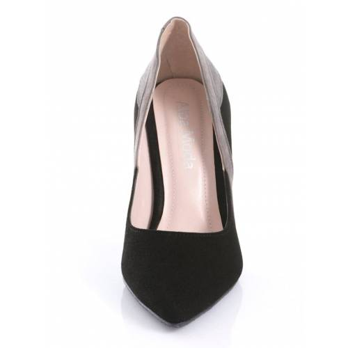 Alba Moda Pumps in spitzer Form, schwarz
