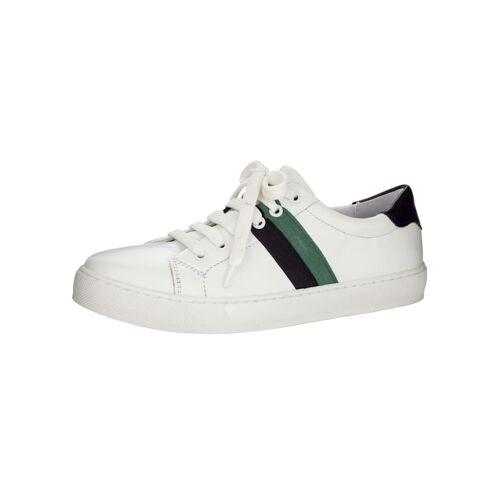 WENZ Sneaker mit modischer Streifen-Verzierung, weiß