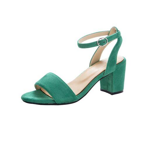 albamoda.de Sandale in trendiger Optik, grün