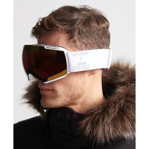 Superdry Sport Icone Skibrille 1SIZE weiß