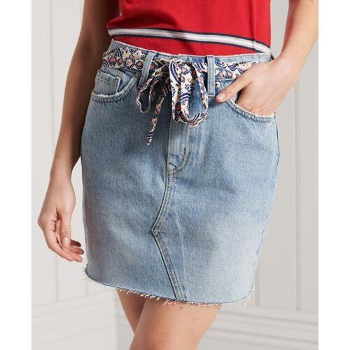 Superdry Jeans-Minirock 40 Keine