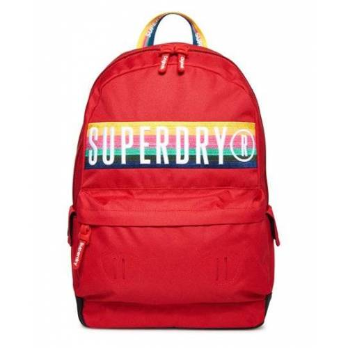Superdry Retro Band Montana Rucksack 1SIZE rot