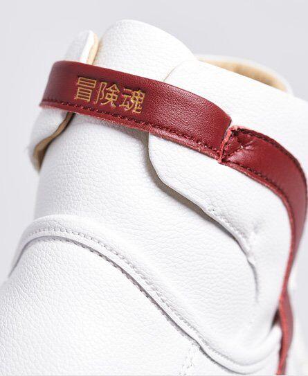 Superdry Vegan Basket Lux Sneaker 44 weiß