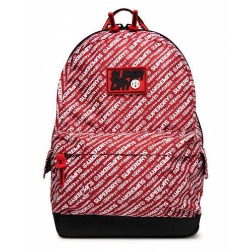 Superdry S Boy Montana Rucksack 1SIZE rot