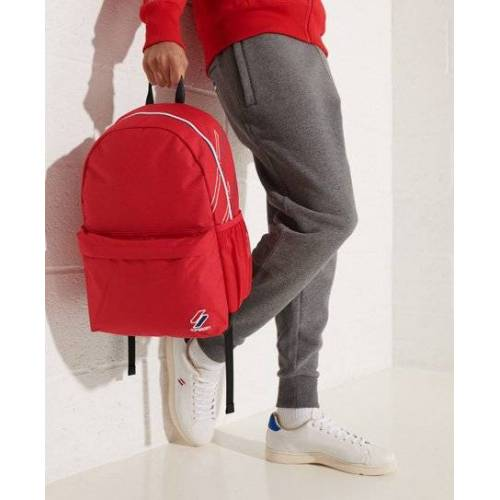Superdry Sportstyle Montana Rucksack 1SIZE rot