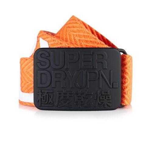 Superdry Gürtel Sid M orange