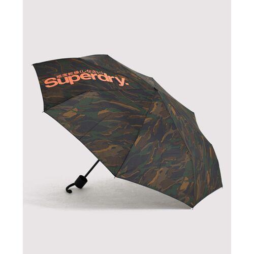 Superdry SD Minilite Regenschirm 1SIZE grün