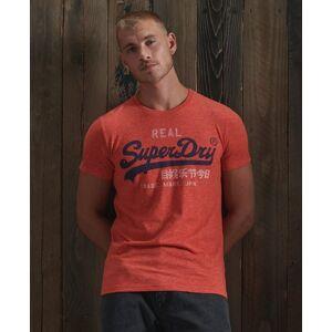 Superdry Vintage Logo Premium Goods T-Shirt L rot