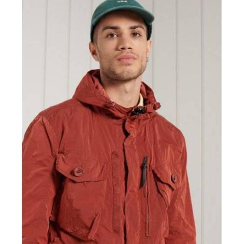 Superdry Military Parka XL rot