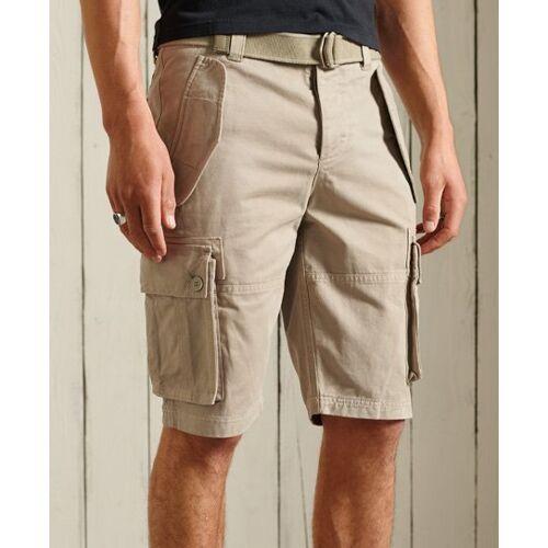 Superdry Schwere Core Cargo-Shorts 32 creme