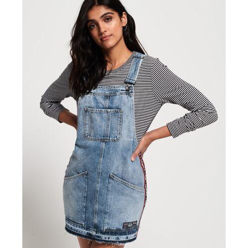 Superdry Jeans-Latzkleid, female, Kleider
