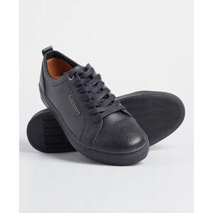 Superdry Truman Sneaker zum Schnüren aus Leder 42 schwarz