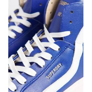 Superdry Vegan Basket Lux Sneaker 44 dunkelblau