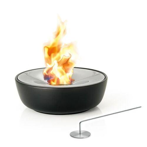 Blomus Fuoco Gel-Feuerstelle large Edelstahl/Keramik Schwarz