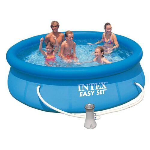 INTEX Easy-Set Pool-Set Ø305cm mit Kartuschenfilter Blau