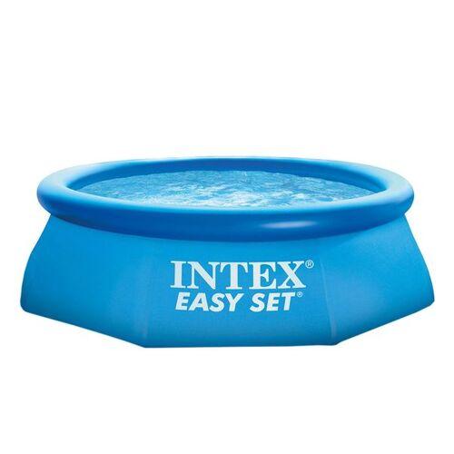 Intex Easy Set Pool Ø244x76 cm mit Kartuschenfilter Blau