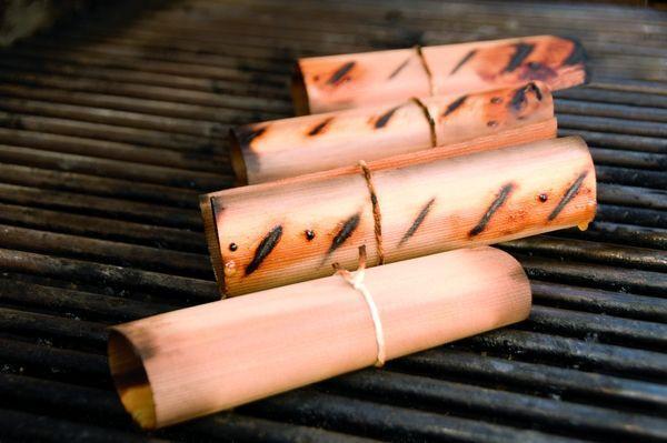 Weber Wood Wraps - Erle ( 8 Stück) Braun