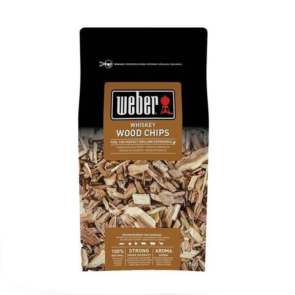 Weber Räucherchips Whiskey, 700 g Braun