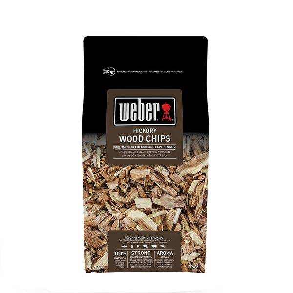 Weber Räucherchips Hickory, 700 g Braun
