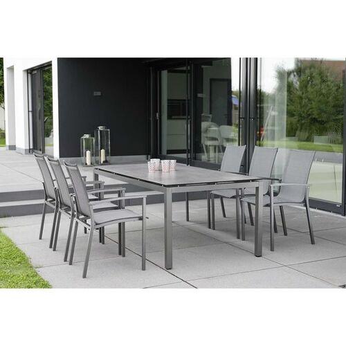 Stern Evoee Gartenmöbelset 7-teilig mit Gartentisch 200x100c