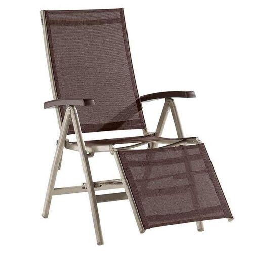 Sieger Bodega Relaxsessel Aluminium/Textilene Natur