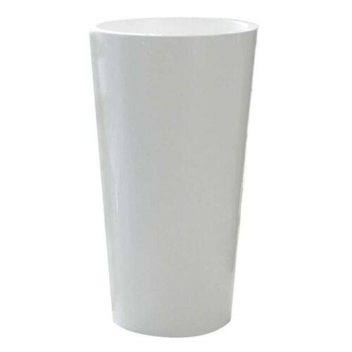 euro3plast Pflanztopf TUIT Ø40cm weiß Weiß