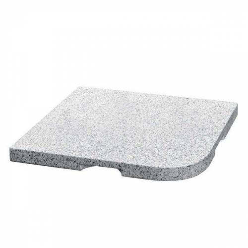 Delschen Granitplatte 25kg 48x48x4cm Granit