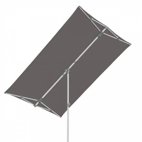 Suncomfort Flex Roof Balkonschirm 210x150 cm Dunkelgrau