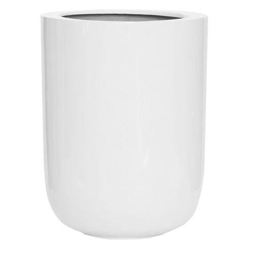 Pottery Pots Dice Pflanztopf Ø34x44cm Fiberstone Weiß