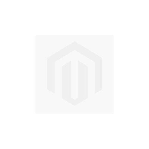 Zebra Triangel Gartentisch 210x100cm Edelstahl/Teak Braun Hellgrau