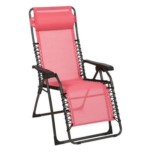 Sungörl Oasi Relaxliege Pink Lady Stahl/Suntex