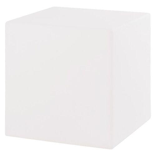 VON HASTEDT Pro Cube Sitzwürfel 33x33cm LED Weiß Weiß