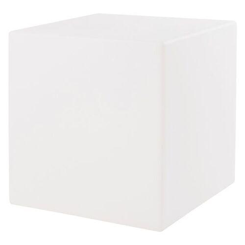 VON HASTEDT Pro Cube Sitzwürfel 43x43cm LED Weiß Weiß