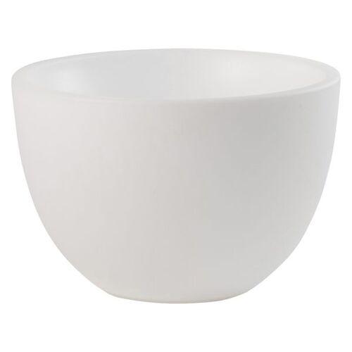 VON HASTEDT Pro Curvy Pot XM PLUS SMART Pflanzkübel 59 cm LED Weiß Weiß