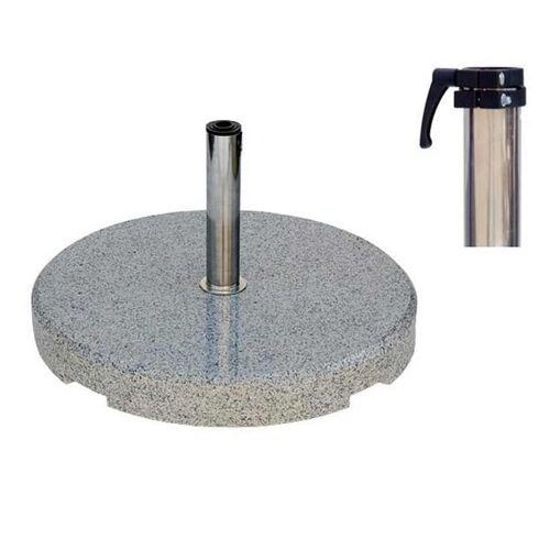 HS Concept - Granitständer 90kg rund grau