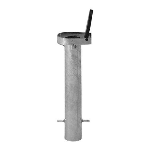 Glatz Bodenhülse BT Stahl verzinkt für Stockschirme ohne Übergangsrohr