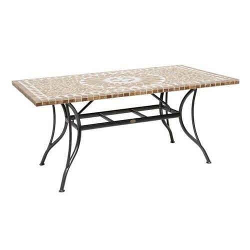 OUTLIV. Maya Gartentisch 160x90 cm Stahl/Keramik Mehrfarbig