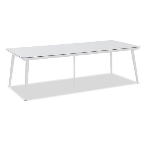 Hartman Sophie Studio Gartentisch 240x100 cm Aluminium/HPL Weiß