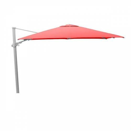 Kettler Easy Swing Ampelschirm 300x300 cm Aluminium/Polyester Rot