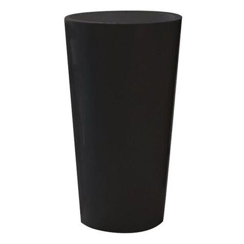 euro3plast Pflanztopf Tuit 33cm schwarz Schwarz
