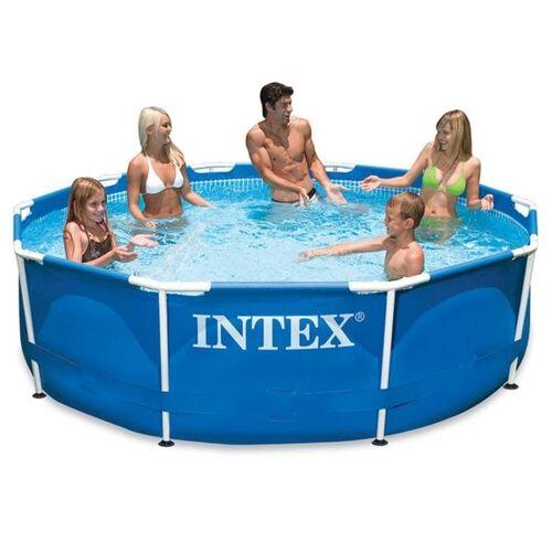 Intex Metall Frame Pool-Set Ø305x76 cm Blau