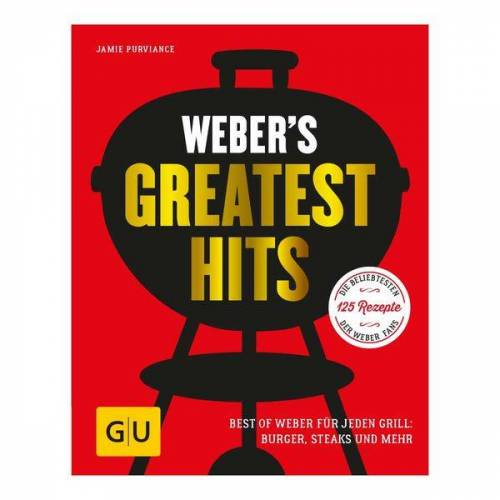 Weber s Greatest Hits Grillbuch Rot