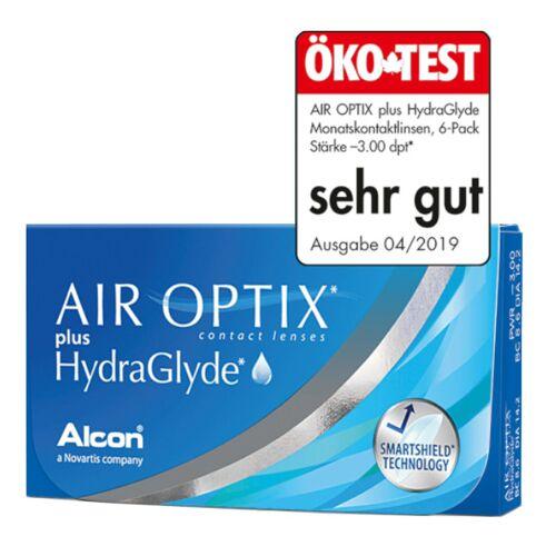 Alcon  Air Optix Plus HydraGlade Monatslinsen 6er Packung 8,60  -0,75