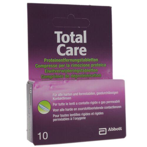 Abbott  TotalCare Proteinentfernungstabletten 10 Stück Proteinentfernungstabletten 10 Stück
