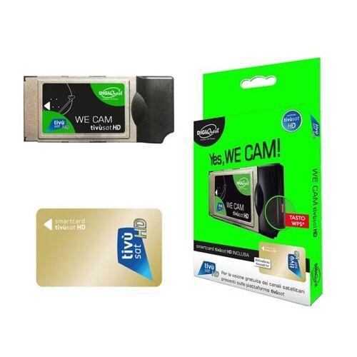 DIGIQuest TiVuSat DIGIQuest We CAM SmarCam HD CI+ Modul inkl. TiVuSat Karte Aktiv