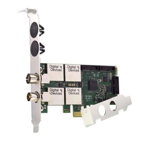 Digital Devices Cine C2/T2I V7 - Twin Tuner TV Karte DVB-C/C2/T/T2/ISDB - Einkabelsystem