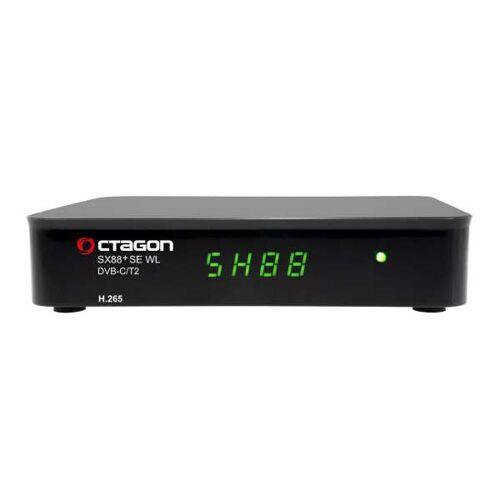 Octagon SX88+ SE WL HD H.265 Full HD IPTV WLAN Hybrid DVB-C/T2 Receiver