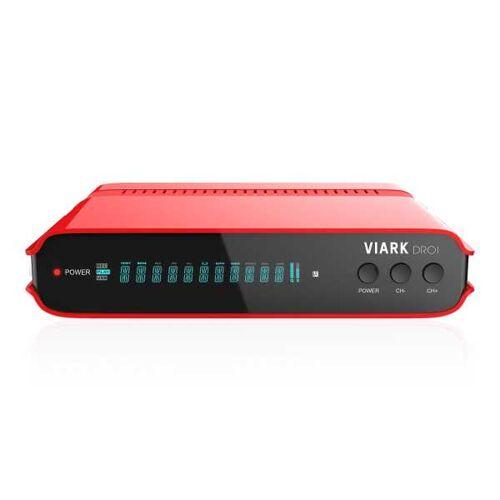 Viark DROI 4K 2160p H.265 HEVC Combo Android 7.0 Wifi Sat DVB-C/T2 Receiver B-Ware