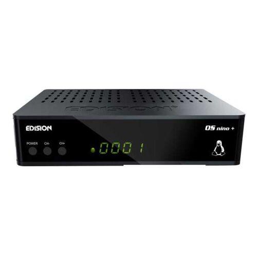 Edision OS Nino Plus S2 Full HD E2 Linux HEVC HbbTV 1080p LAN Sat Receiver